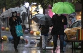 Marmara Bölgesi'nde yağışlar geçen ay yüzde...