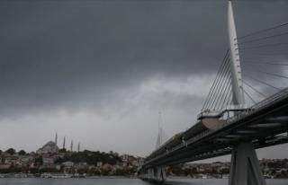 Marmara Bölgesi'nde yarın kuvvetli yağış...