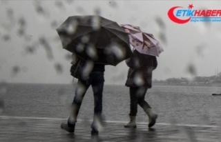 Meteorolojiden Marmara, Kıyı Ege ve Batı Karadeniz...