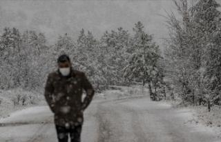 Meteorolojiden 'kuvvetli ve yoğun kar'...