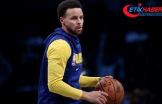 NBA'de Stephen Curry 62 sayıyla kariyer rekoru...