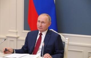 Rusya lideri Putin'den Dünya Ekonomik Forumunda...