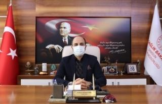Samsun İl Sağlık Müdürü Oruç'tan 'aşı...