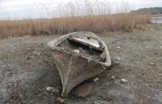 Terkos gölünde korkutan görüntü