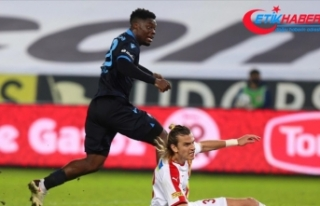 Trabzonspor'da Caleb Ekuban, önceki sezonlardaki...