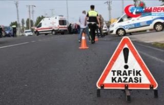 Trafik kazalarında can kayıpları son 10 yılda...