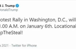Trump, 6 Ocak'ta büyük protesto mitingi düzenleyecek