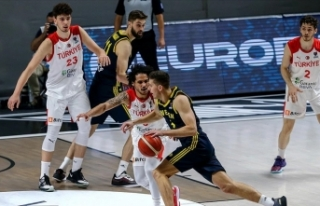 A Milli Erkek Basketbol Takımı Hırvatistan ile...