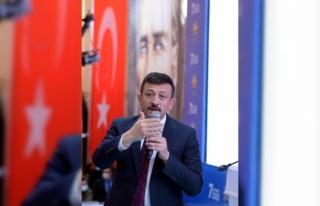 AK Parti Genel Başkan Yardımcısı Dağ, partisinin...