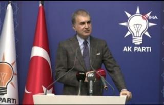 AK Parti Sözcüsü Çelik'ten CHP Genel Başkanı...