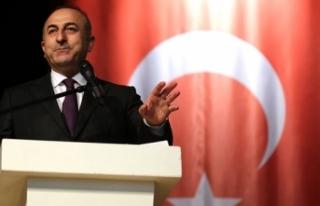 """Bakan Çavuşoğlu: """"Özel bağlar üzerine bina..."""