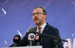 """Bakan Kasapoğlu: """"Adanaspor ve Adana Demirspor,..."""