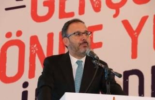 """Bakan Kasapoğlu: """"Bu köprüyü topla, tüfekle,..."""