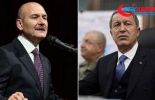 Bakanlar Soylu ve Akar, PKK'nın Gara'daki...