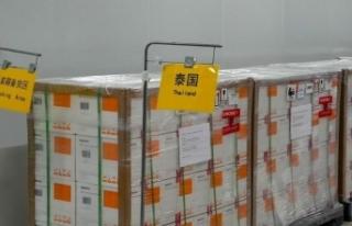 Çin Tayland'a 200 bin dozluk Covid-19 aşısı...