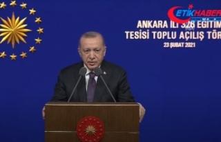 Cumhurbaşkanı Erdoğan: Önümüzdeki aylarda 20...