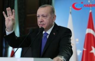 Cumhurbaşkanı Erdoğan: Türkiye'nin nüfus...