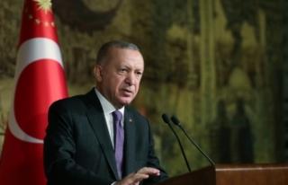 Cumhurbaşkanı Erdoğan, kaza kırıma uğrayan askeri...