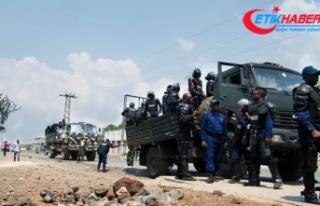 Demokratik Kongo Cumhuriyeti'ndeki saldırıda...