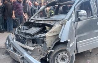 El Bab'da araç içinde patlama: 1 ölü, 5 yaralı
