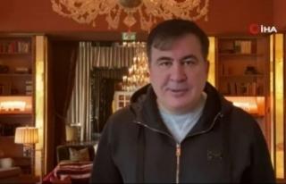 Eski Gürcistan Cumhurbaşkanı Saakaşvili'den...