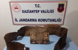Gaziantep'te üzerinde İbranice yazıların...