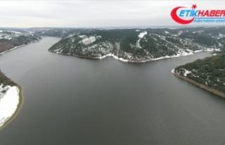 İstanbul'a su sağlayan barajlardaki doluluk...