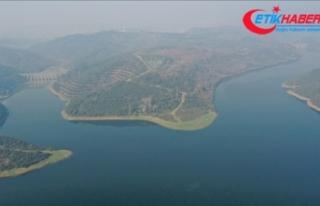 İstanbul'a su sağlayan barajlardaki toplam...