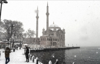 İstanbul'da kar yağışı etkili olmaya devam...