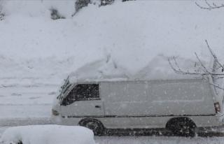 Marmara Bölgesi'nin doğusunda aralıklı kar...