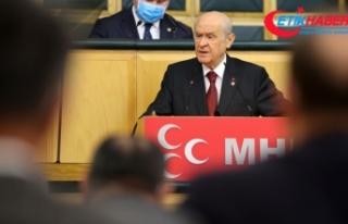 MHP Lideri Bahçeli: Türk gençliği heves değil...