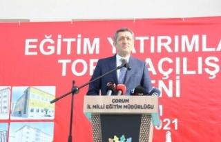 """Milli Eğitim Bakanı Selçuk: """"Çocuklarımızın..."""