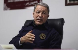 Milli Savunma Bakanı Akar: Pençe Kartal-2 Harekatı'nda...