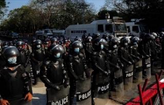 Myanmar'da askeri yönetim güvenlik güçlerinin...