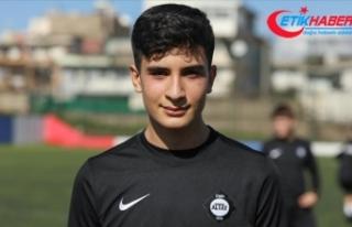 Şehit Fethi Sekin'in futbolcu oğlunun gönlünde...