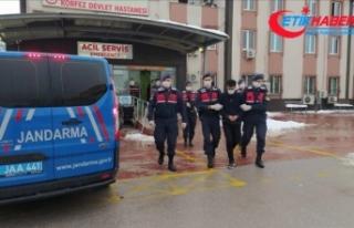 Şemdinli'de polis aracına ve askeri konvoya...