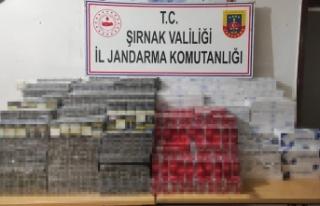 Şırnak'ta kaçakçılık operasyonu: 35 gözaltı