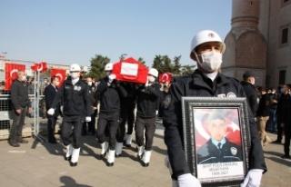 Teröristlerin katlettiği polis memuru Kaya, Mardin'de...