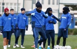 Trabzonspor, Başakşehir maçı hazırlıklarını...