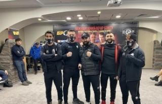 Türk boksörün rakibi korona virüse yakalandı...