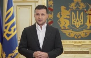 """Ukrayna Devlet Başkanı Zelenskiy: """"NATO Donbas'taki..."""