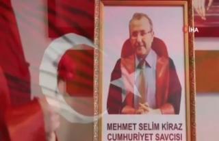 Adalet Bakanı Gül, Şehit Cumhuriyet Savcısı Mehmet...