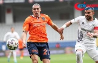 Başakşehir sahasında Konyaspor ile beraberliğe...
