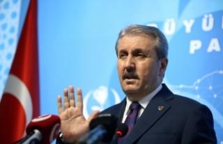 """BBP Genel Başkanı Destici: """"Türkiye'yi bu..."""