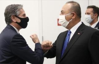 Çavuşoğlu-Blinken görüşmesinde ittifak ilişkilerinin...