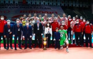 CEV Challenge Kupası'nda Ziraat Bankkart ikinci...