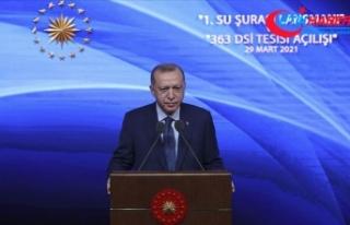 Cumhurbaşkanı Erdoğan: Suyumuzu korumakla vatanımızı...