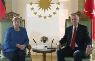 Cumhurbaşkanı Erdoğan, Almanya Başbakanı Merkel...