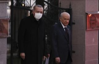 Cumhurbaşkanı Erdoğan'ın MHP Genel Başkanı...