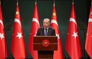 Cumhurbaşkanı Erdoğan: Yeni kontrollü normalleşme...